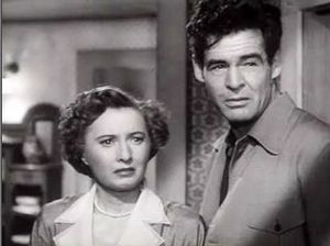 Robert Ryan - With Barbara Stanwyck in  Clash by Night (1952)