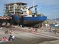 Barco y bañistas - panoramio.jpg
