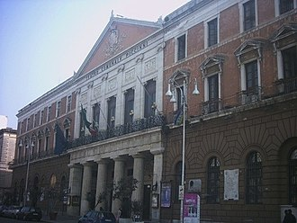 Bari - The Teatro Piccinni in Bari