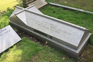 John Abercromby, 5th Baron Abercromby - Baron Abercromby's grave, Dean Cemetery