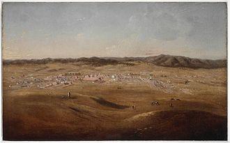 Joseph Backler - Image: Bathurst , c.1847 57 painted by Joseph Backler a 928569h