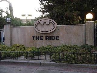 Batman: The Ride amusement ride