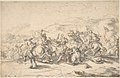 Battle Scene- a Cavalry Engagement MET DP805707.jpg