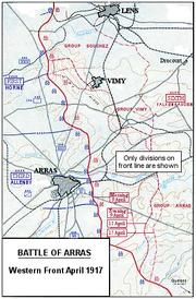 Battle of Arras, April 1917