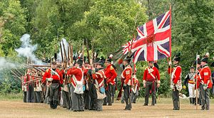 Stoney Creek, Ontario - War of 1812 Re-enactment, Stoney Creek, Ontario, an annual event (June) at Battlefield House