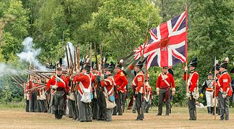 Battlefield House (Stoney Creek) - War of 1812 Re-enactment, Stoney Creek, Ontario, an annual event (June) at Battlefield House