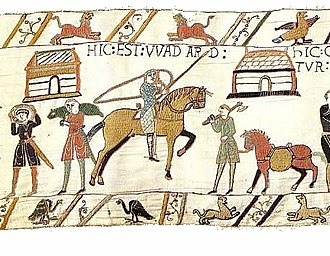 Wadard - Wadard, depicted in the Bayeux Tapestry