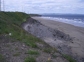 Edmund Ashfield (Catholic agent) - Sands at Seafield near Leith, where Edmund Ashfield was abducted in 1599