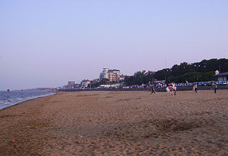 Seafront and beach at Cleethorpes Beach of Cleethorpes 01.JPG