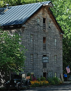 Bear's Mill, a historic site in the township