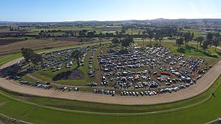 A large swap meet held in Beaudesert, Queensland, Australia