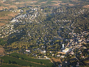 Beaulieu, Hérault - An aerial view of Beaulieu