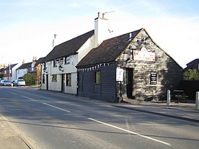 Bedmond, The Bell Inn and the High Street - geograph.org.uk - 272833.jpg