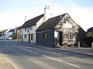 Bedmond Human settlement in England