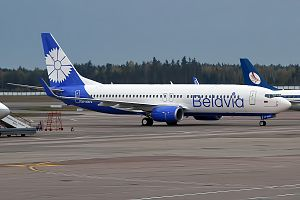 Belavia - Belavia Boeing 737-800  wearing the new livery