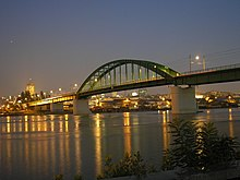 Belgrade - Old Sava bridge, 08.10.2010.jpg