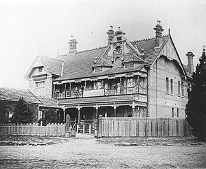 Hydro Majestic Hotel - The Belgravia Hotel ca. 1910