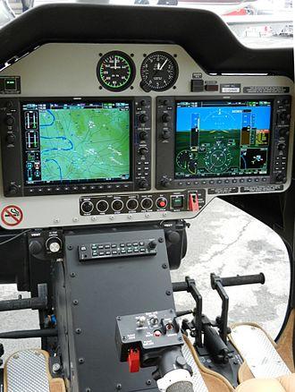 Bell 407 - Bell 407 cockpit