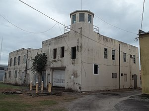 National Register of Historic Places listings in Palm Beach County, Florida - Image: Belle Glade FL old city hall fire station 02