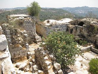 Tzova - Belmont crusader fortress