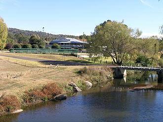 Bendemeer, New South Wales - Macdonald River, new bridge and hotel