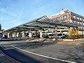 Bensheimer Busbahnhof- Richtung Frankfurt am Main (Nord) 20.3.2009.JPG