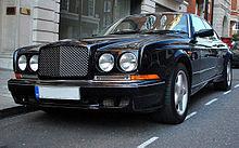 Bentley serie r continental