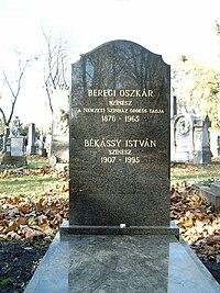 Beregi Oszkár és Békássy István sírja.jpg