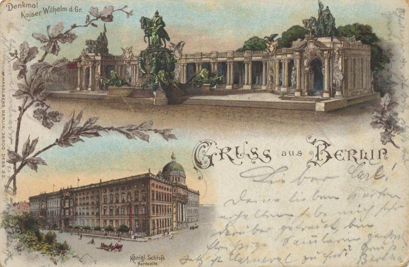 File:Berlin, Mitte, Nationaldenkmal Kaiser Wilhelm I, 1899b.jpg