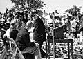 Bernie C. Papy at canal dedication 26 February 1961.jpg