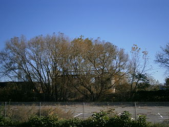 Canal Crossing, Jersey City - Site of Berry Lane Park north of West Side Branch