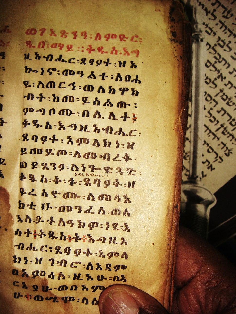 Beta israel ancient holly book