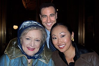 "Candace Kita - Shooting ""Ugly Betty"" with Betty White"