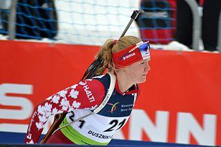 Sarah Beaudry Canadian biathlete