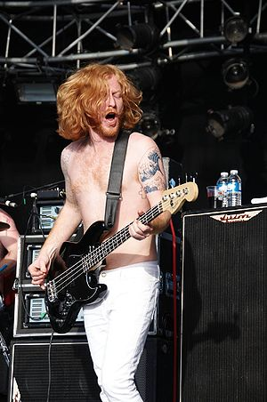 James Johnston (Scottish musician) - Image: Biffy Clyro 006