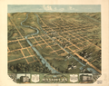 Bird's-eye View of Massillon, Stark County, Ohio, 1870 WDL9584.png