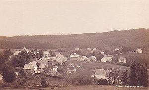 Tamworth, New Hampshire - Chocorua Village c. 1912