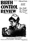 Cover of Birth Control Review (July 1919)