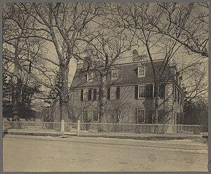 Edward Everett - Birthplace of Everett in Dorchester, Massachusetts. ca.1898 photo