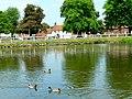 Bishop Burton across the Village Pond - geograph.org.uk - 184465.jpg
