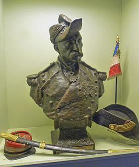 Buste du Colonel Teyssier, Bitche