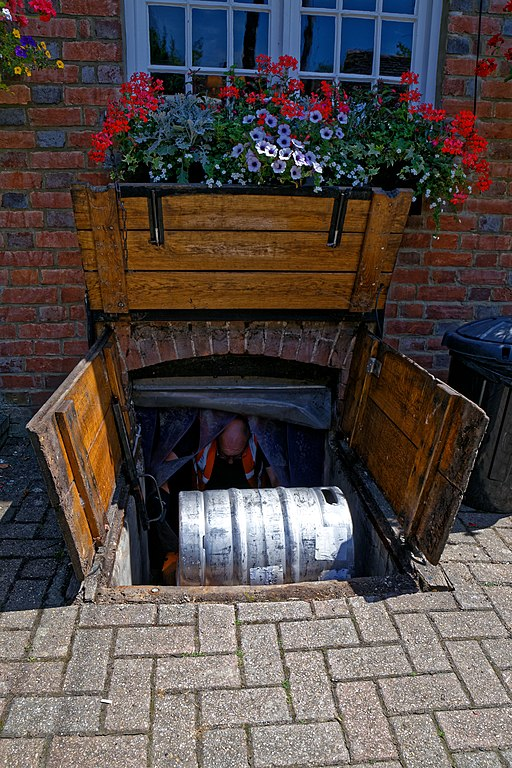 File Black Horse Inn Pub Cellar Trap Door In Nuthurst West