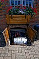 Black Horse Inn pub cellar trap door in Nuthurst West Sussex England 02.jpg