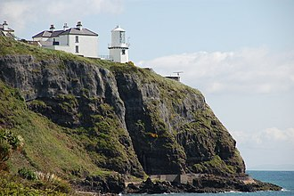 Belfast Lough - Blackhead Lighthouse is one of three lighthouses in Belfast Lough.