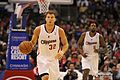 Blake Griffin brings ball up 20131118 Clippers v Grizzles.jpg
