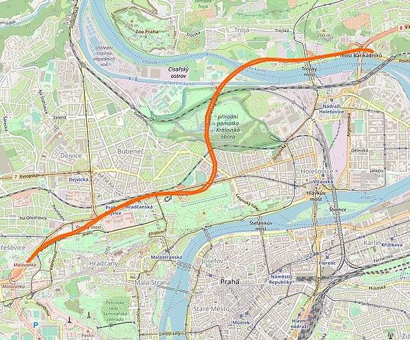 File Blanka Tunel Mapa Jpg Wikimedia Commons