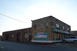 National Register of Historic Places listings in Bradley County, Arkansas - Image: Blankinship Motor Company Building