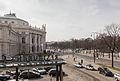 Blick von der Bel Etage des Café Landtmann auf das Burgtheater und den Universitätsring-0737.jpg