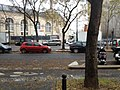 Blocage d'une route -Boulevard de Ménilmontant.jpg