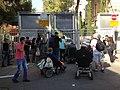 Blocking Israeli Prime Minister Residence0.jpg